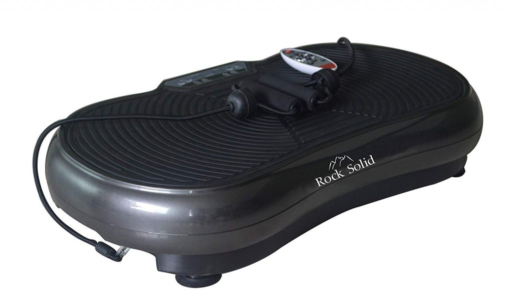 Rock Solid Whole Body Vibration Plate with remote control